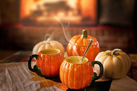 pumpkin hot drink
