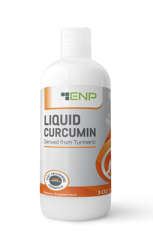 Liquid Curcumin Turmeric - 3 oz Travel Size
