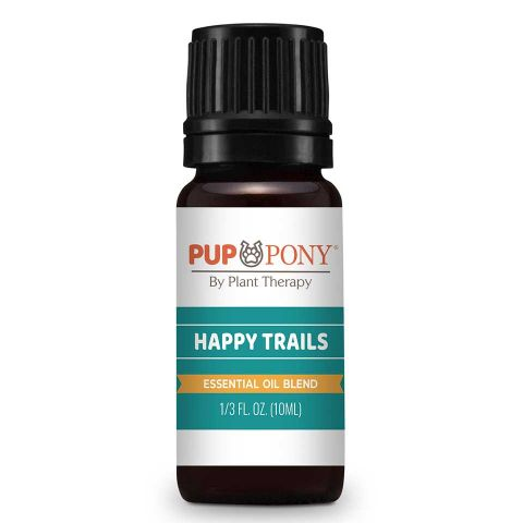 Happy Trails Essential Oil for Travel Sickness in Dogs and Horses