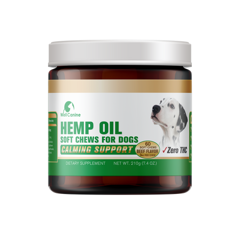 Canine Hemp Oil Soft Chews (60 ct)