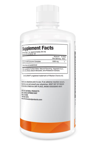 Liquid Curcumin Supplement - Derived from Turmeric