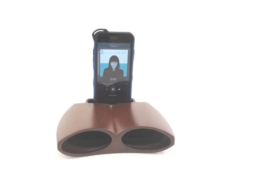 Smartphone Wood Amplifier