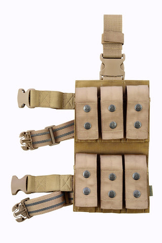 SHE-22092 Less-lethal Munitions Leg Pouch