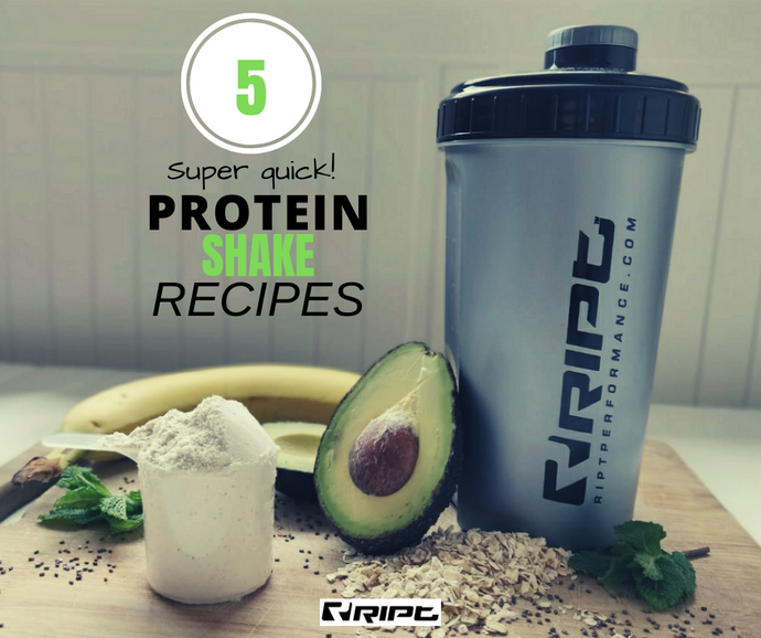 5 Protein Shake Recipes