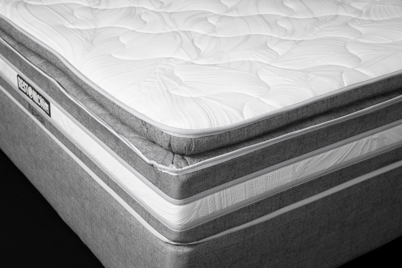 Restonic Rejuvenate Double Mattress and Base - Standard Length