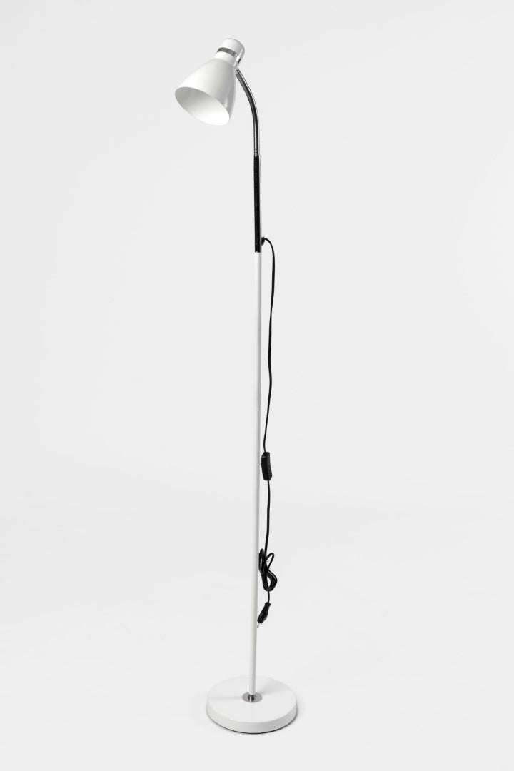 Aura White Floor Lamp