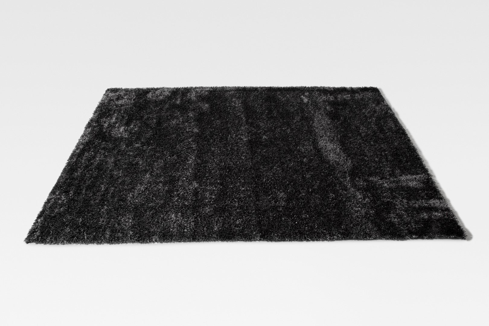 Torta Dark Grey Shaggy Rug