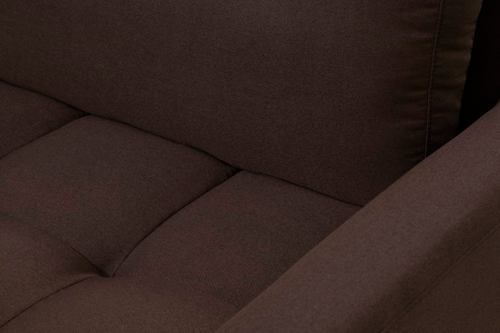 Modern 3 Seater Taupe Couch
