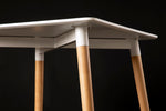 Sanu White Square Table