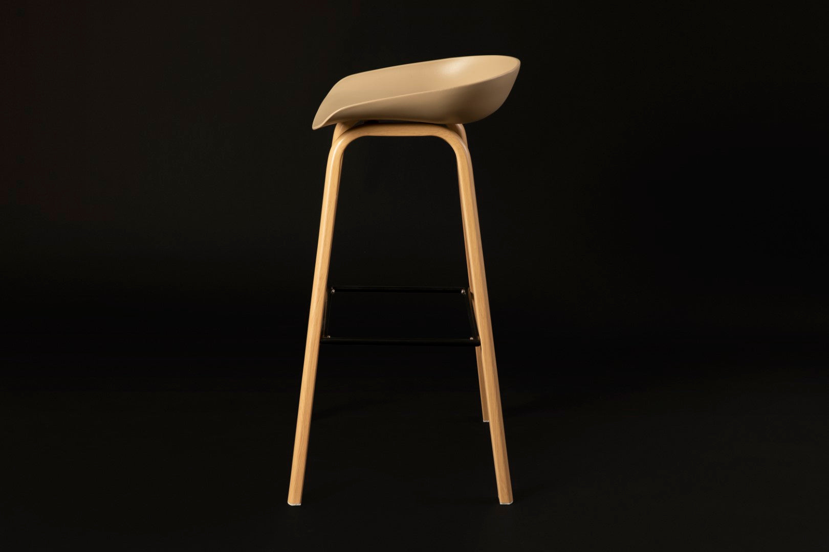 Penuche Stone Bar Stool