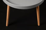 Lynt Grey Round Table