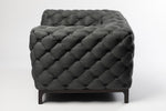 Tay Chesterfield Dark Grey Occasional Chair