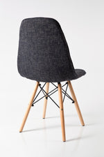 Nakaa Black Dining Chair