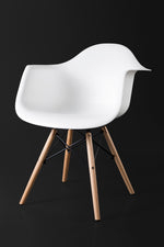 Arica White Dining Chair