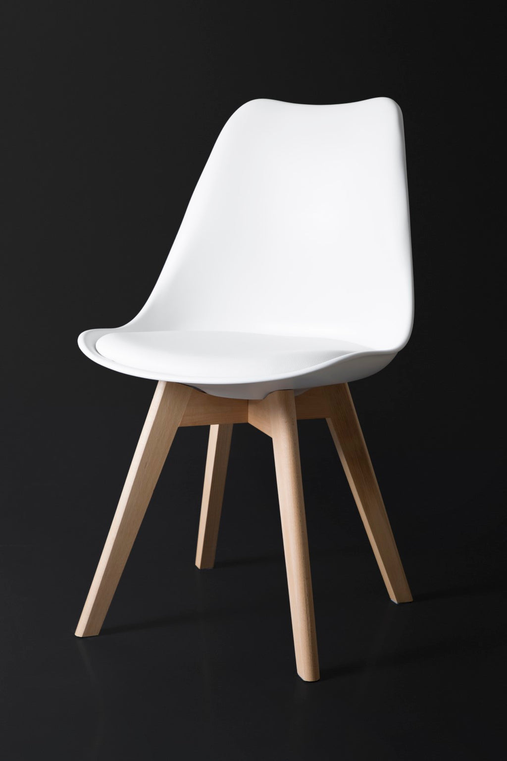 Nissi White Dining Chair