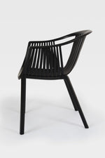 Cala Black Chair side view