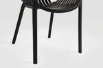 Cala Black Chair modern