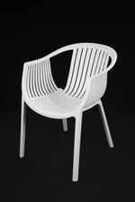 Cala White Chair