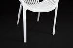 Cala Modern White Chair