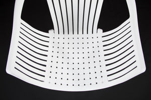 Cala White Chair Polypropylene