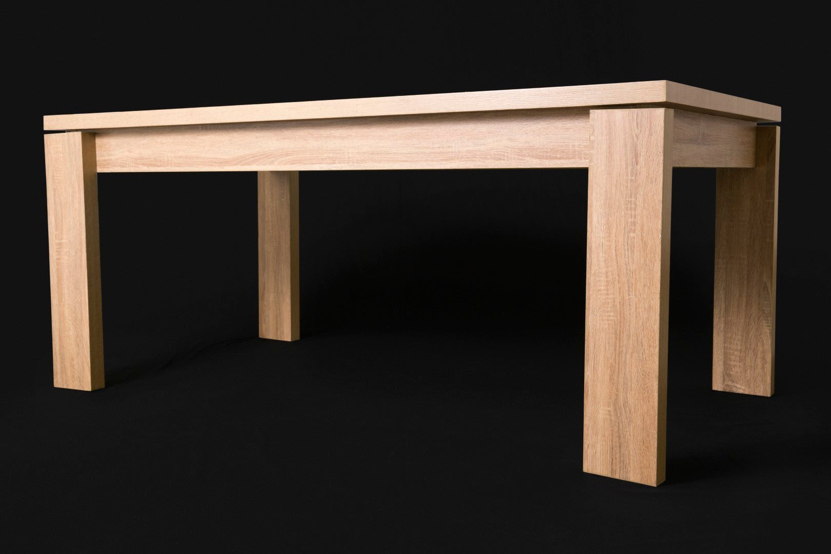Letta 6 Seater Dining Room Table side view