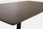 Modern Dining Room Table Dark wood