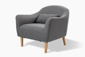Reeve Light Grey Occasional Chair