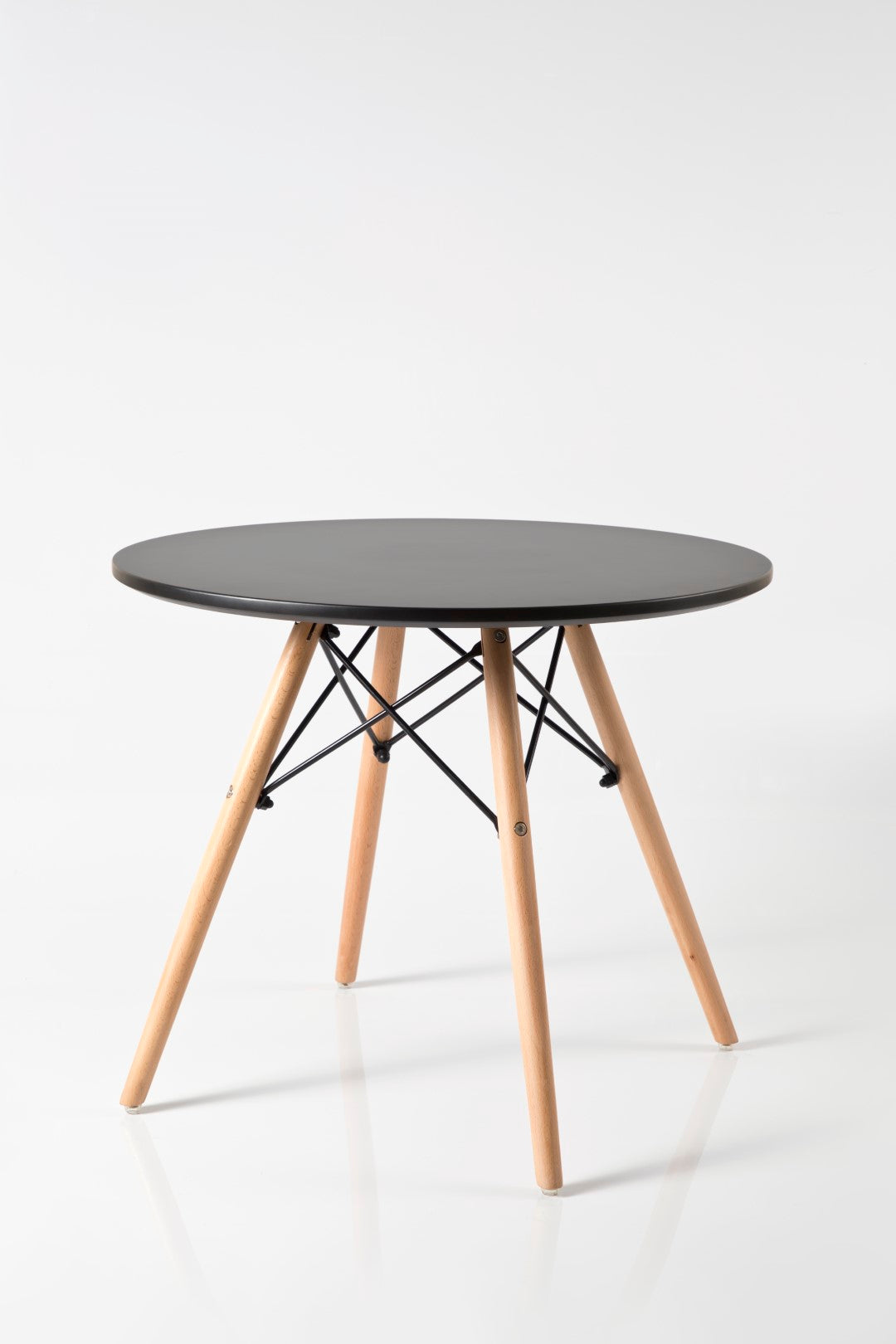 Eleko Black Round Table
