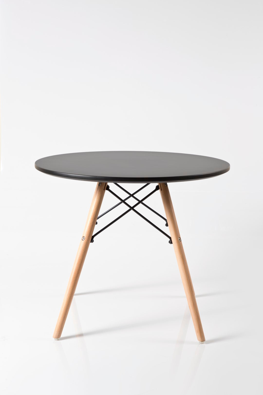 Eleko Black Round Table front