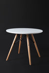 Eleko White Round Table