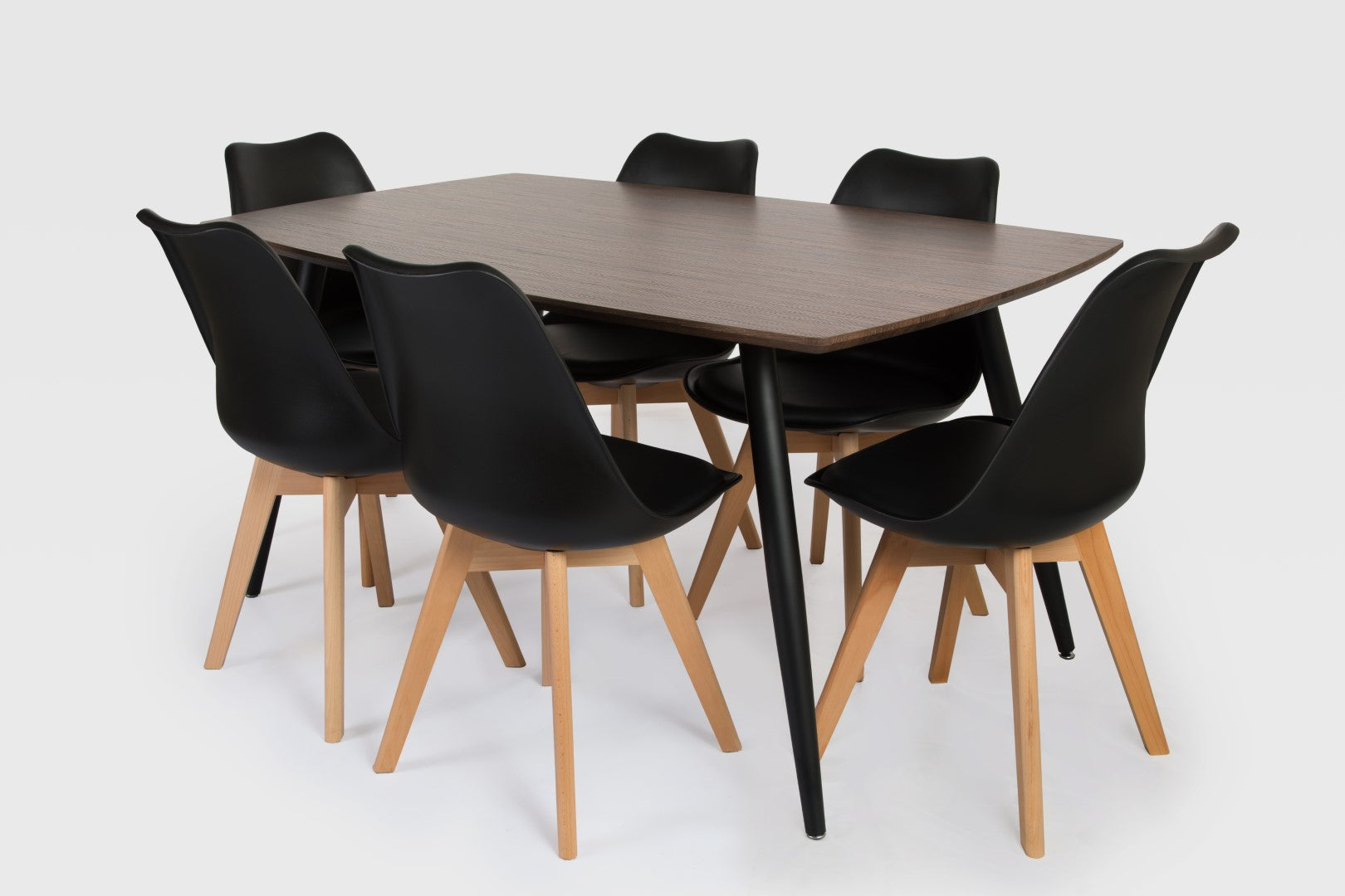 Tia & Nissi Dining Room Table and Chairs Combo
