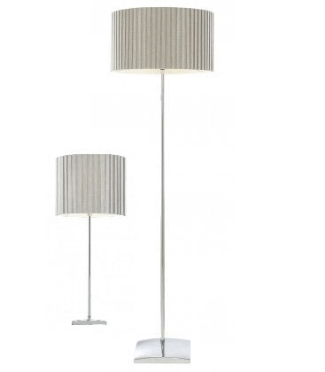 Ziv Floor And Uri Table Lamp Combo