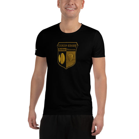 CMU Exiles Black Men's Athletic T-shirt