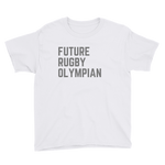 Future Rugby Olympian Youth Short Sleeve T-Shirt - Saturday's A Rugby Day