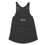 Females are the Future Racerback Tank - Saturday's A Rugby Day