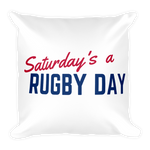 SARD Square Pillow - Saturday's A Rugby Day