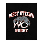 West Ottawa Rugby Throw Blanket