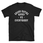 GR v Everybody - Short-Sleeve Unisex T-Shirt - Saturday's A Rugby Day