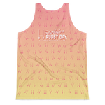 Rock Hard 7's Unisex Tank Top - Saturday's A Rugby Day