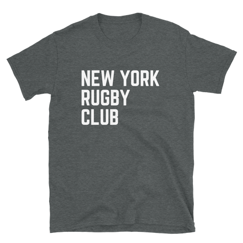 New York Rugby Short-Sleeve Unisex T-Shirt