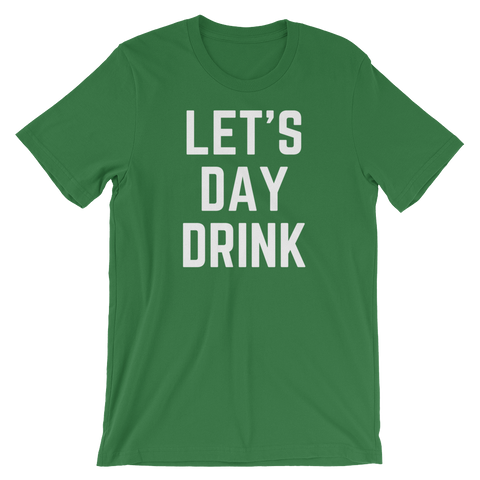 Let's Day Drink - Saturday's A Rugby Day