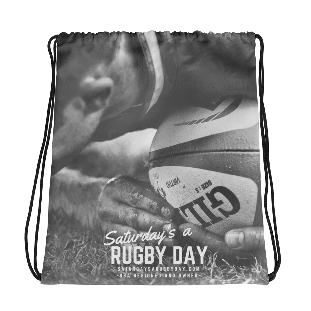 Ruck Drawstring bag - Saturday's A Rugby Day