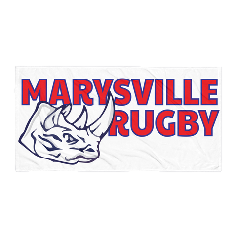 Marysville RFC Towel - Saturday's A Rugby Day