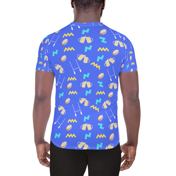 Summer Lovin' All-Over Print Men's Athletic T-shirt