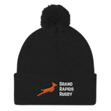 Grand Rapids Rugby Pom Pom Knit Cap