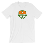 Louisville Shamrock Crest Short-Sleeve Unisex T-Shirt - Saturday's A Rugby Day