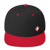 Louisville Rugby Snapback Hat - Small Crest - Saturday's A Rugby Day