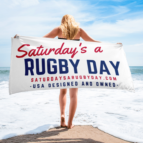 SARD Towel - Saturday's A Rugby Day