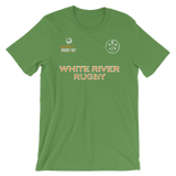 White River St. Pats Jersey Style Short-Sleeve Unisex T-Shirt - Saturday's A Rugby Day