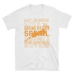 Grand Rapids Social Short-Sleeve Unisex T-Shirt - Saturday's A Rugby Day